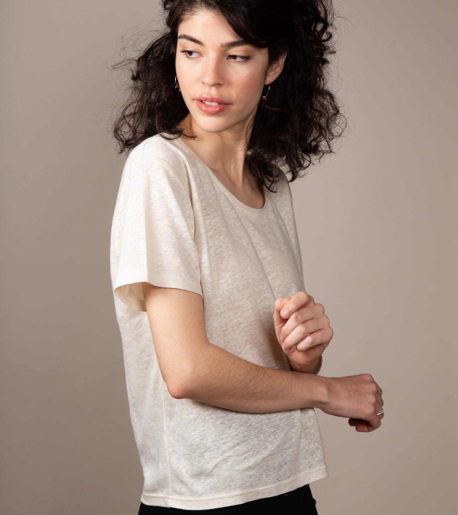 organic linen shirt