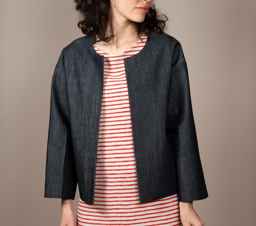 organic cotton jeans jacket